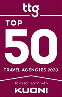 TTG Top 50 Travel Agencies - Award Winner