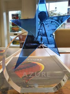 Azure Award - Winners are Travel Experience