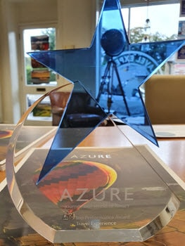 Azure Award - Winners are Travel Experience